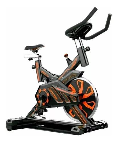 bicicleta spinning estatica  topfit spinbike corleone