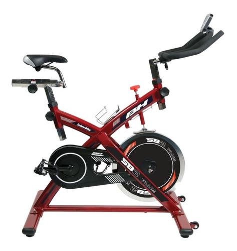 bicicleta spinning fija gimnasio uso rudo intenso ejercicio