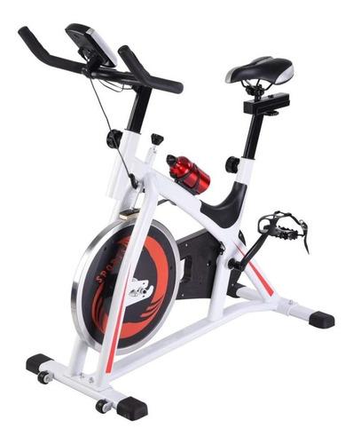 bicicleta spinning fija profesional disco 13kg regalos