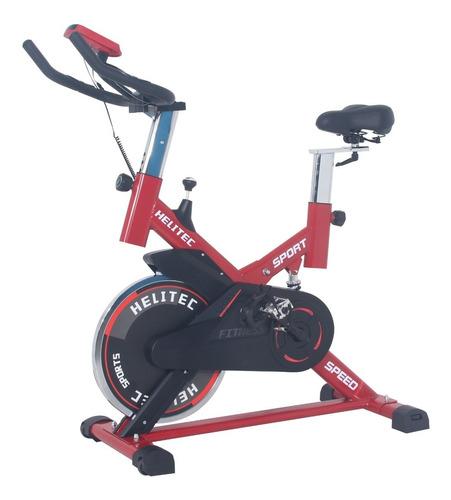 bicicleta spinning indoor profesional 18kg disco + alfombra