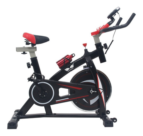 bicicleta spinning indoor rueda inercial 8k semi profesional