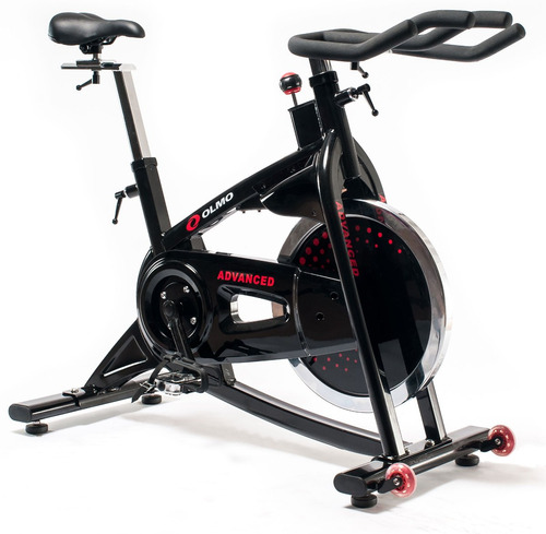 bicicleta spinning olmo advanced profesional disco 20 kg gym