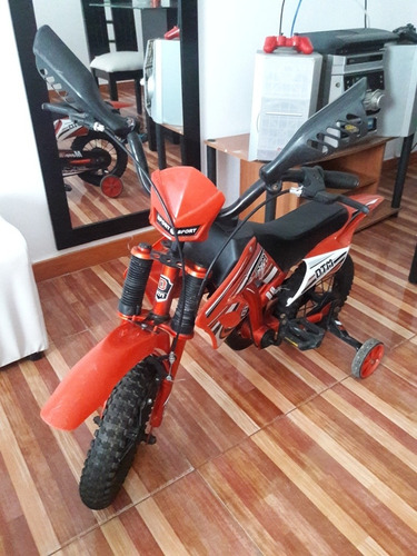 bicicleta tipo moto en muy buen estado(como nueva)