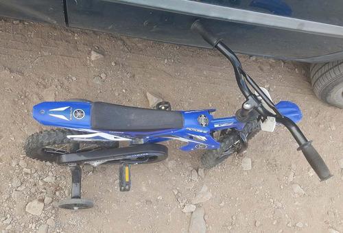bicicleta tipo moto moto bike yamaha rodada 12 yz450f