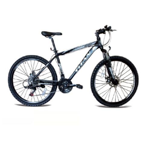 bicicleta titan 26 marco aluminio shimano 18 velocidades