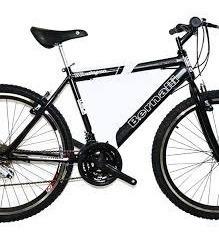 bicicleta todoterreno bernalli / itm city 18 cambios rin 26