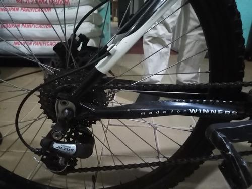 bicicleta todoterreno gw en aluminio