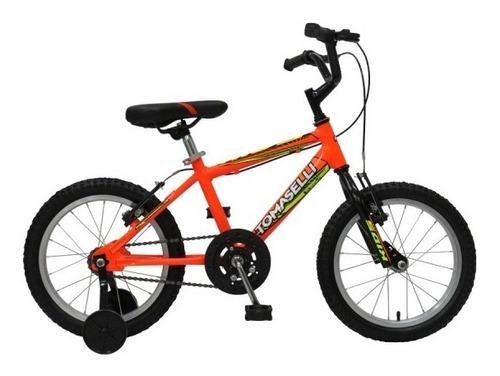 bicicleta tomaselli kids varon rodado 14