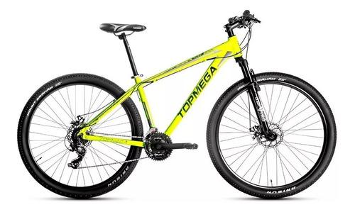 bicicleta top mega aluminio sunshine r29 + linga+casco+infl