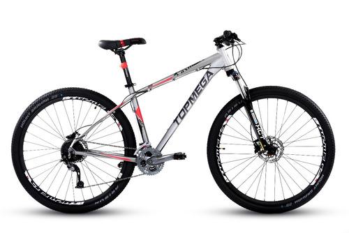 bicicleta top mega armor r29 27v alivio + led + computadora