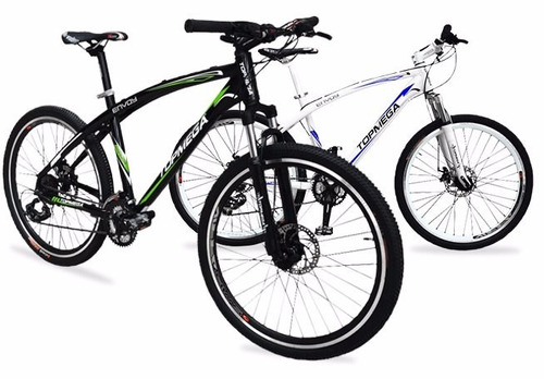 bicicleta top mega envoy rodado 26, 21 velocidades