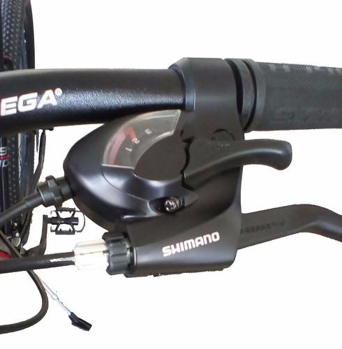 bicicleta top mega sunshine rodado 29, 21 vel., aluminio