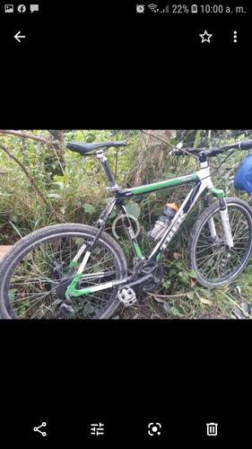 bicicleta treck aluminio termo formado