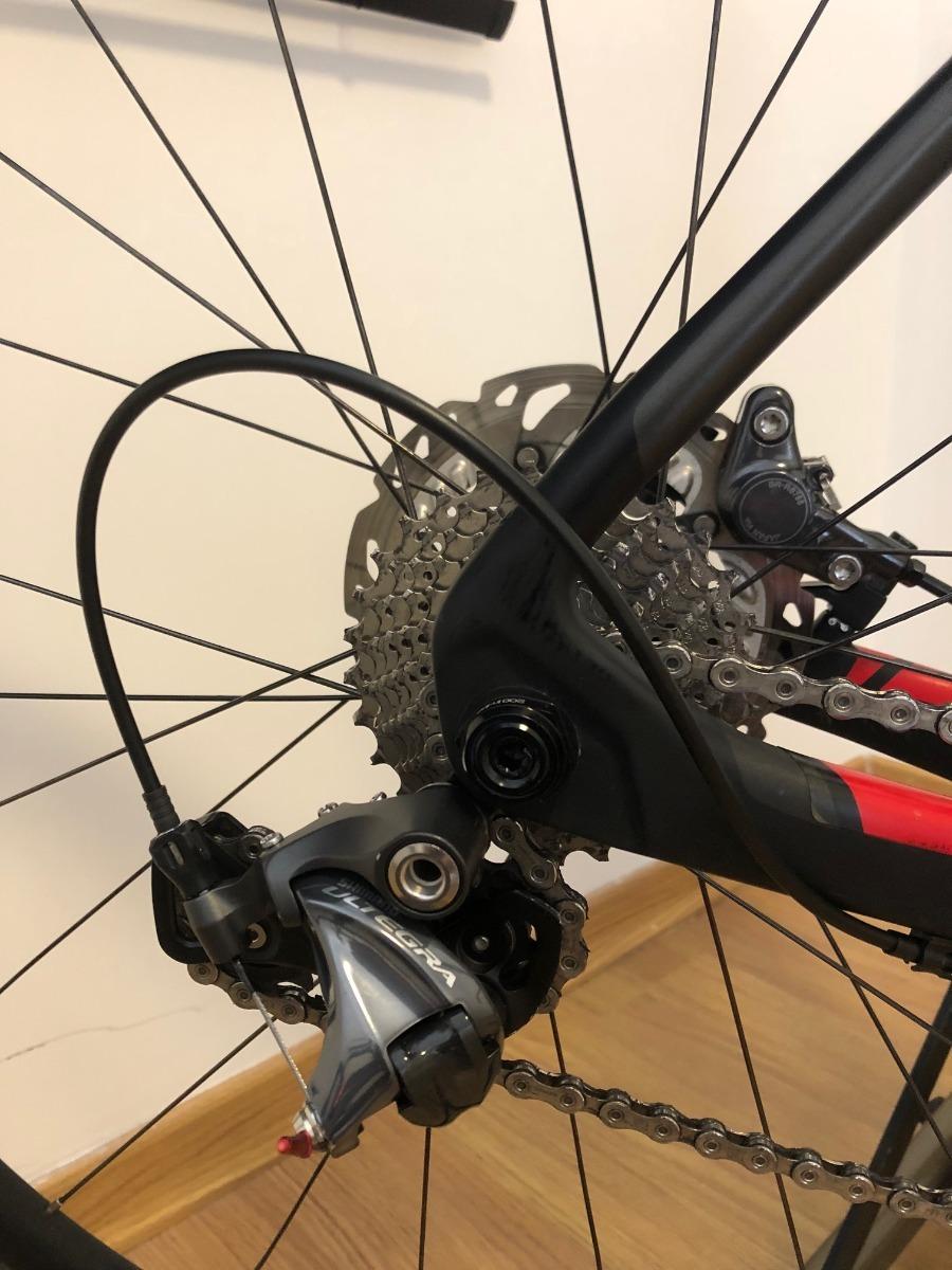 Bicicleta Trek Domane 4 5 Disc Compact 56 - 2016 C/ Nf