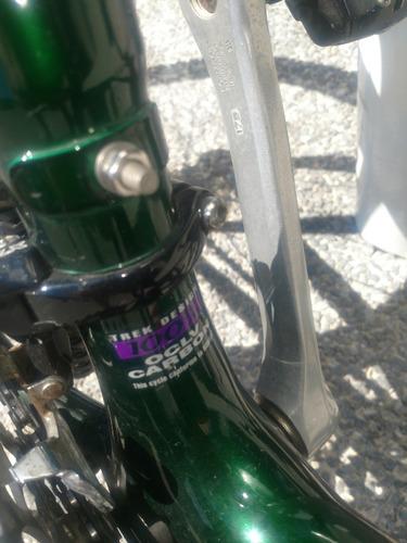 bicicleta trek oclv 9800 de fibra de carbono con poco uso