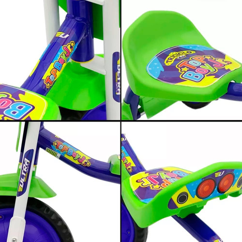 bicicleta triciclo infantil velotrol meninos e meninas cores