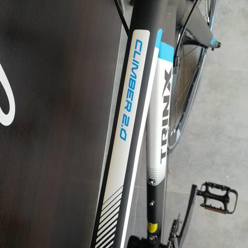 bicicleta trinx climber 2.0 claris 8v