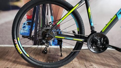 bicicleta trinx m116 rodad 27.5 cuadro aluminio freno disco