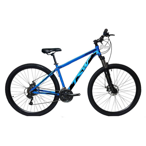 bicicleta tsw 29 27v shimano acera suspensao c/trava