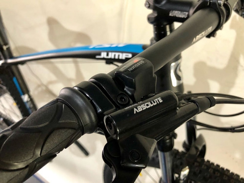 bicicleta tsw jump  24v hidráulico suspensão c/ trava