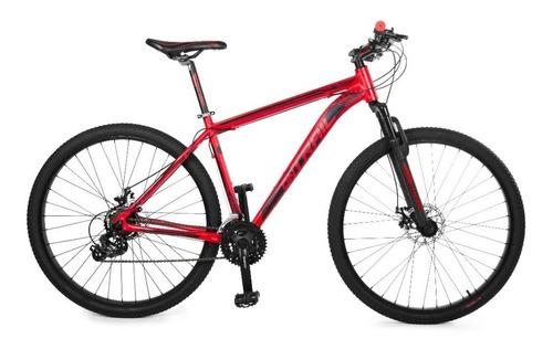 bicicleta tt ontrail fractal 27.5 de21 vel disco mec, shiman