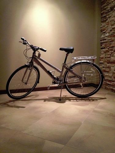 bicicleta urbana marca chronus como nueva