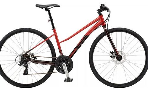 bicicleta urbana paseo gt traffic dama rodado 28 disco 21v.