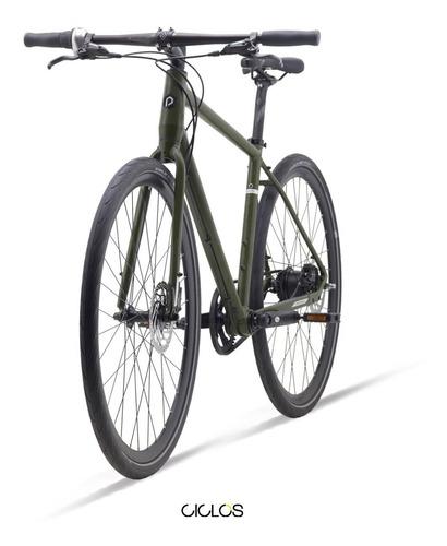 bicicleta urbana polygon path i8 freno disco c/ maza nexus 8v correa - ciclos