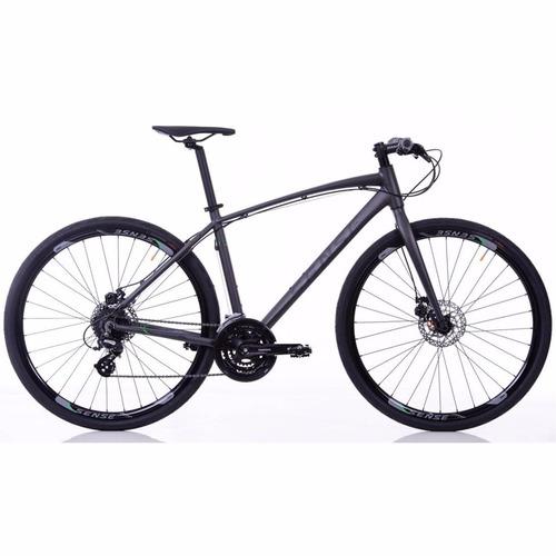 bicicleta urbana sense 29x19 activ 2017 24v altus cinza