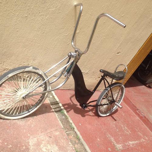 bicicleta vagabundo, piezas originales. low raider semi nva.