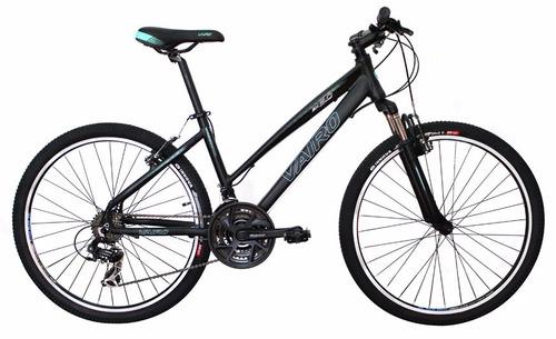 bicicleta vairo 3.0 dama rod 26 mountain bike aluminio susp