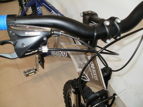 bicicleta vairo xr 4.0 frenos v brake. 24 vel shimano nuevas