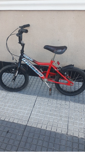 bicicleta varón rodado 14