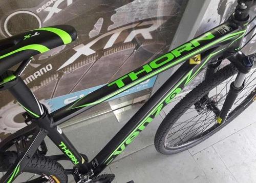bicicleta venzo con grupo altus 3x9