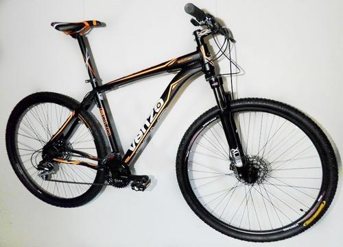 bicicleta venzo eolo r27.5 24 vel frenos a disco hidráulico