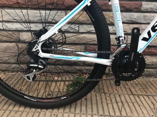 bicicleta venzo eolo r29 freno disco hid 24v / richard bikes