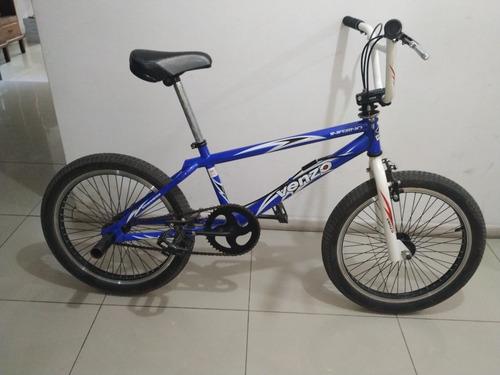 bicicleta venzo inferno azul impecable rosario
