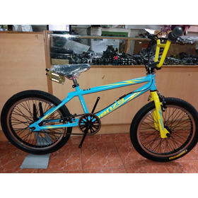 Bicicleta Venzo Inferno Freestyle Rdo 20 Eje 14mm Frenos Ad