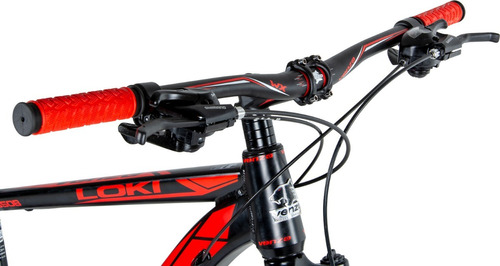 bicicleta venzo loki 27.5 aluminio f.disco 21v suspensión
