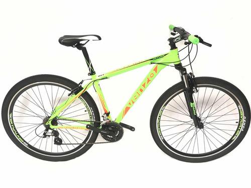 bicicleta venzo skyline 29 21v altus v brake - fr bike store
