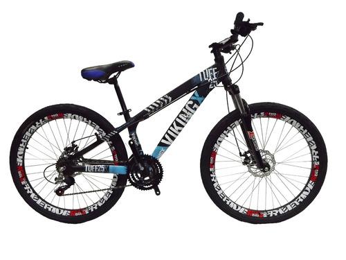 bicicleta vikingx freeride aro 26 freio á disco 21 m