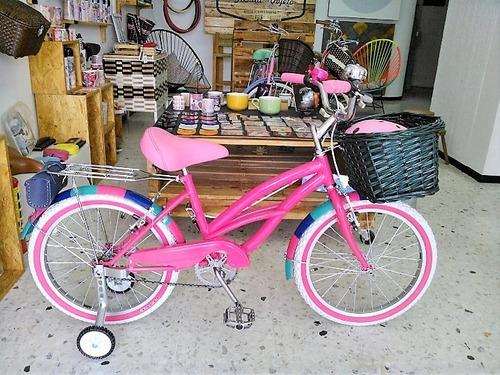 bicicleta vintage niña curve everlasting fun rin rin biclas