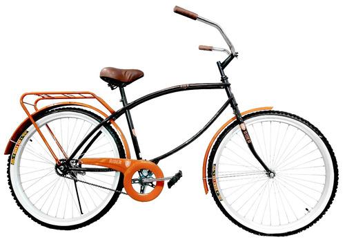 bicicleta vintage retro cruiser r26 cuadro reforzado