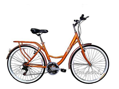 bicicleta vintage unisex sport shimano 18v ligera rapida