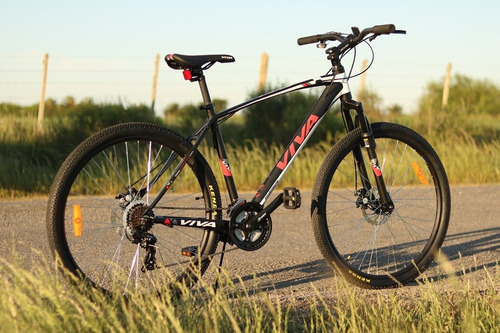 bicicleta viva aluminio rod. 27.5 velocidad shimano 21