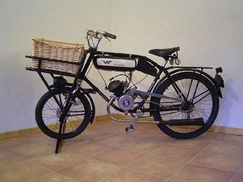 bicicleta wanderer motorizada sachs antiga coleção muitorara