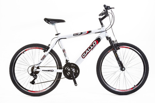 bicicleta wendy(wny)/gallo aluminio 21v com suspensão