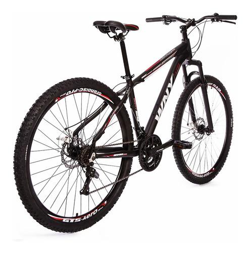 bicicleta wny, freio a disco, kit shimano, aro 29, 21v