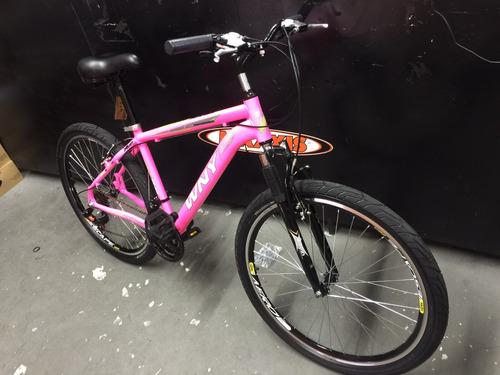 bicicleta wny ou gallo aluminio 21v com suspensão