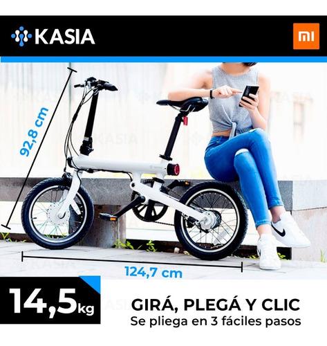 bicicleta xiaomi qicycle ef1 display potenciada